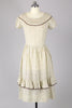 Rare 1930s Cotton Bohemian Dress