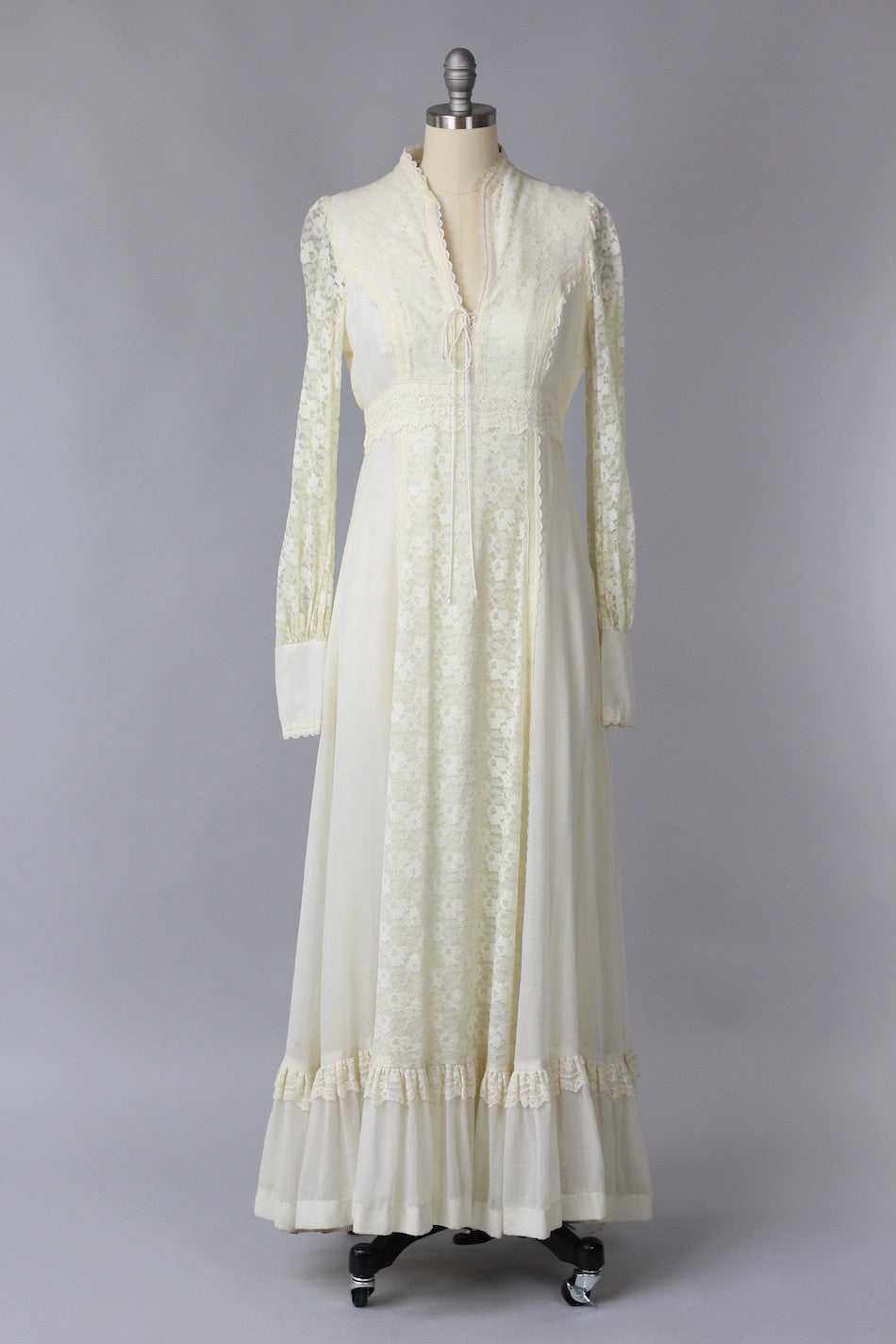 1970s gunne sax wedding dress the vintage net for 1970s wedding dresses for sale