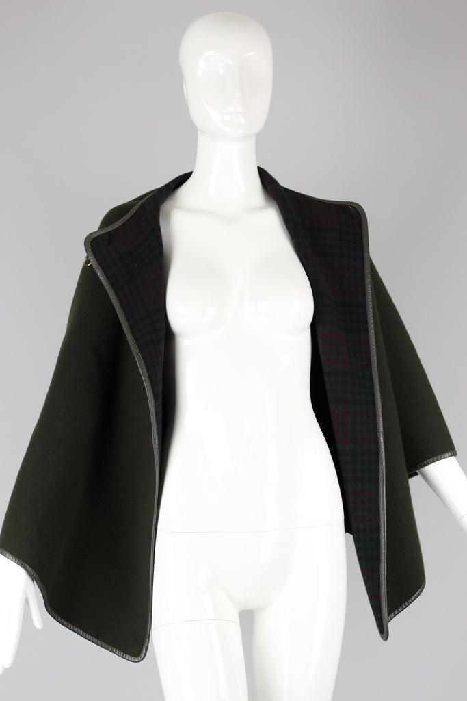Rare 1960s Bonnie Cashin Cape, Original Designer for COACH
