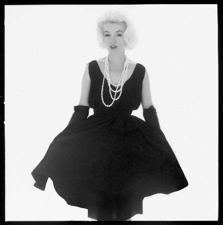 Rare 1950s Marilyn Monroe Swing Dress by Anne Fogarty