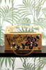 Rare Enid Collins 'Je Vous Aime' Wooden Box Purse 1960s