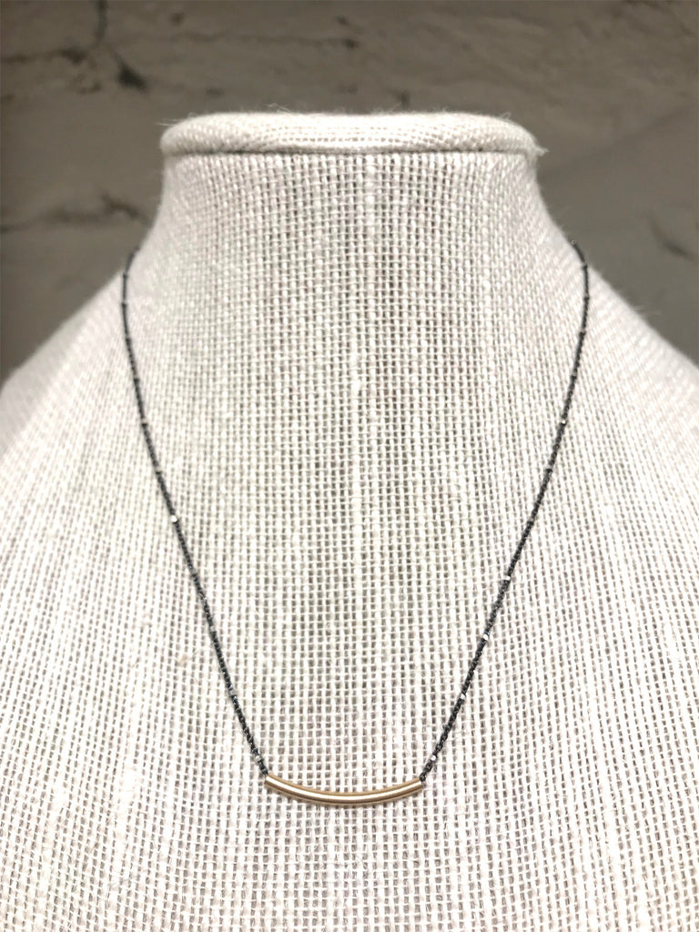 Modern Delicate Bar Necklace