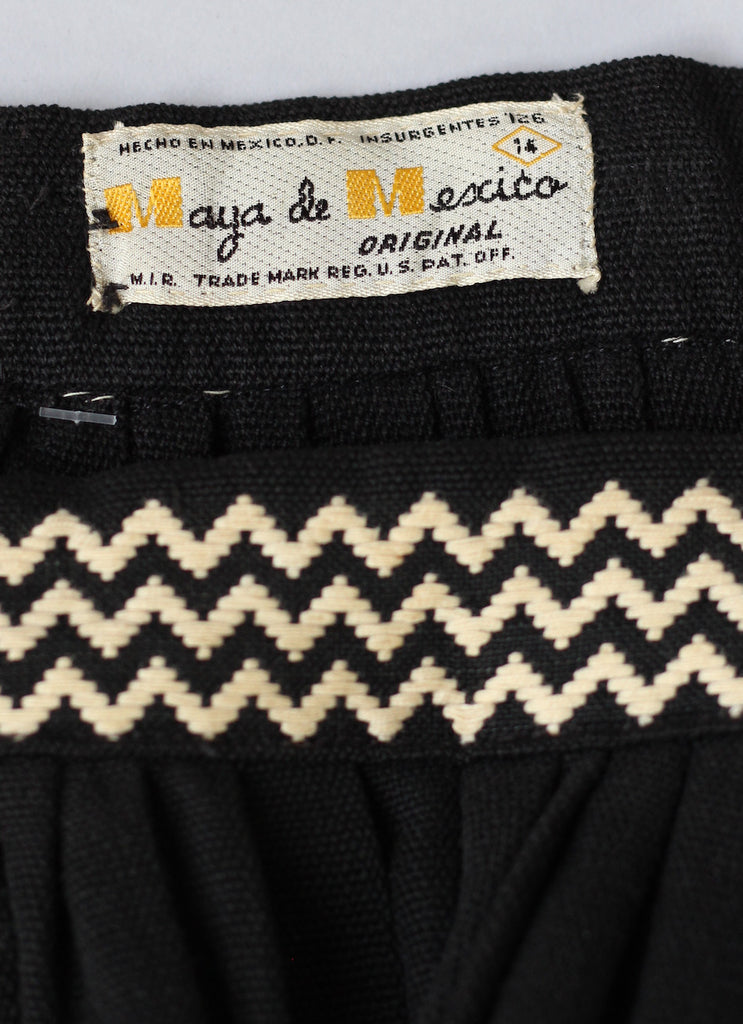 Vintage 1940s or 1950s Maya de Mexico Handmade Skirt