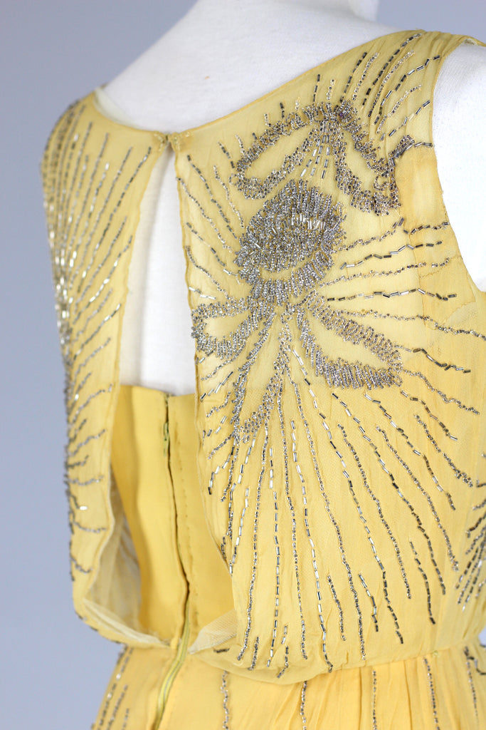 Rare 1920s Flapper Dress Redesigned in the 60s