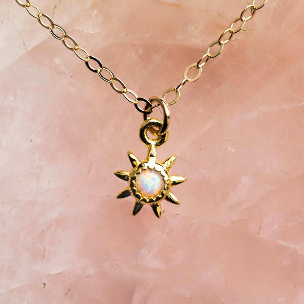 LA Kaiser Opal Starburst Necklace