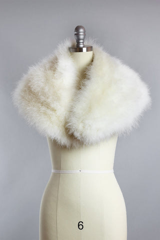 Hollywood Starlet Marabou Feather Wrap