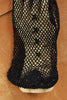 Victorian Hand Crochet Fishnet Gloves Black