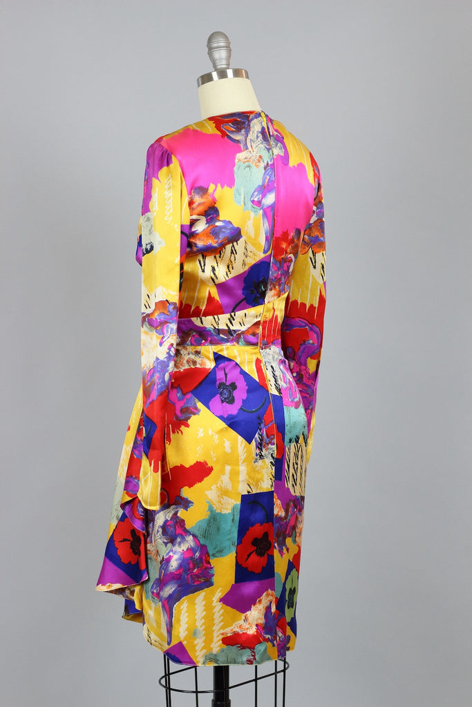 Andy Warhol Print Emanuel Ungaro Vintage Dress