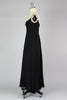 Important 1950s Early 60s Adele Simpson Silk Chiffon and Rhinestone Gown
