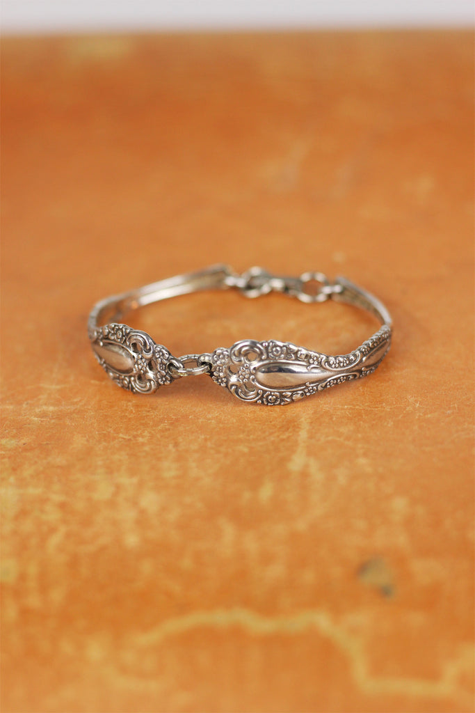 Vintage Sterling Spoon Bracelet