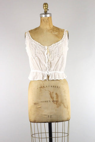 Antique Cotton Camisole