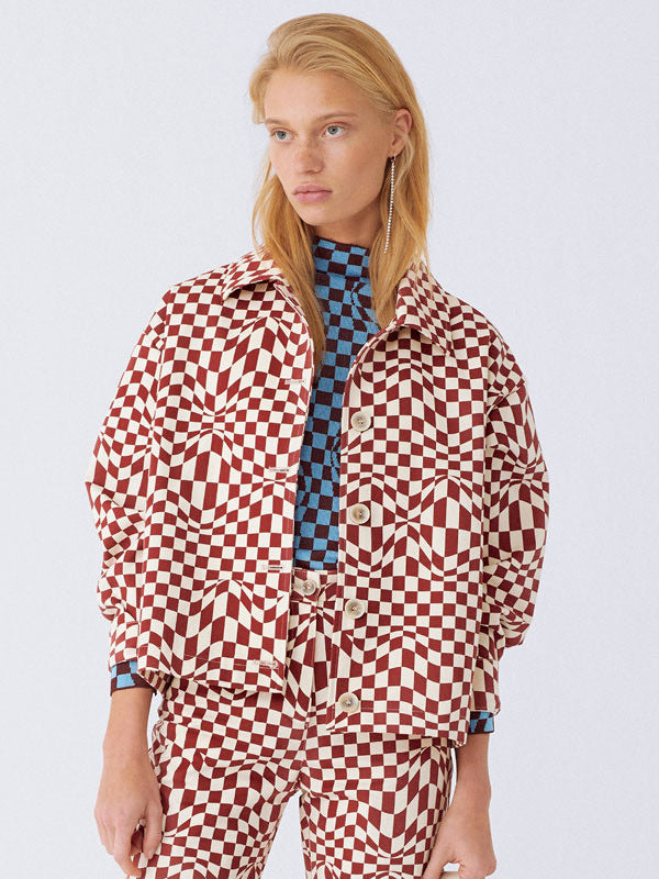 Paloma Wool Finale Check Jacket