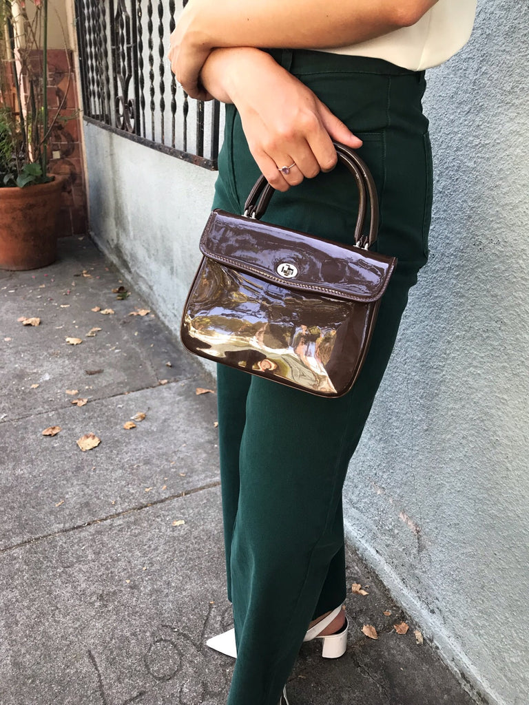 Vintage Patent Leather Mini Bag