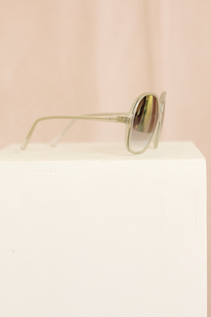 70s Sunglasses - Silver