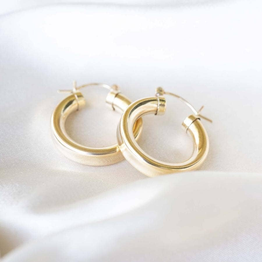 PRE-ORDER Gold Chubby Hoops