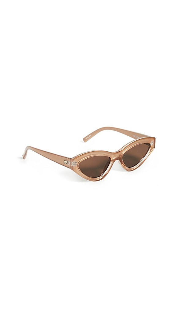 Le Specs Synth Cat Sunglasses- Gold