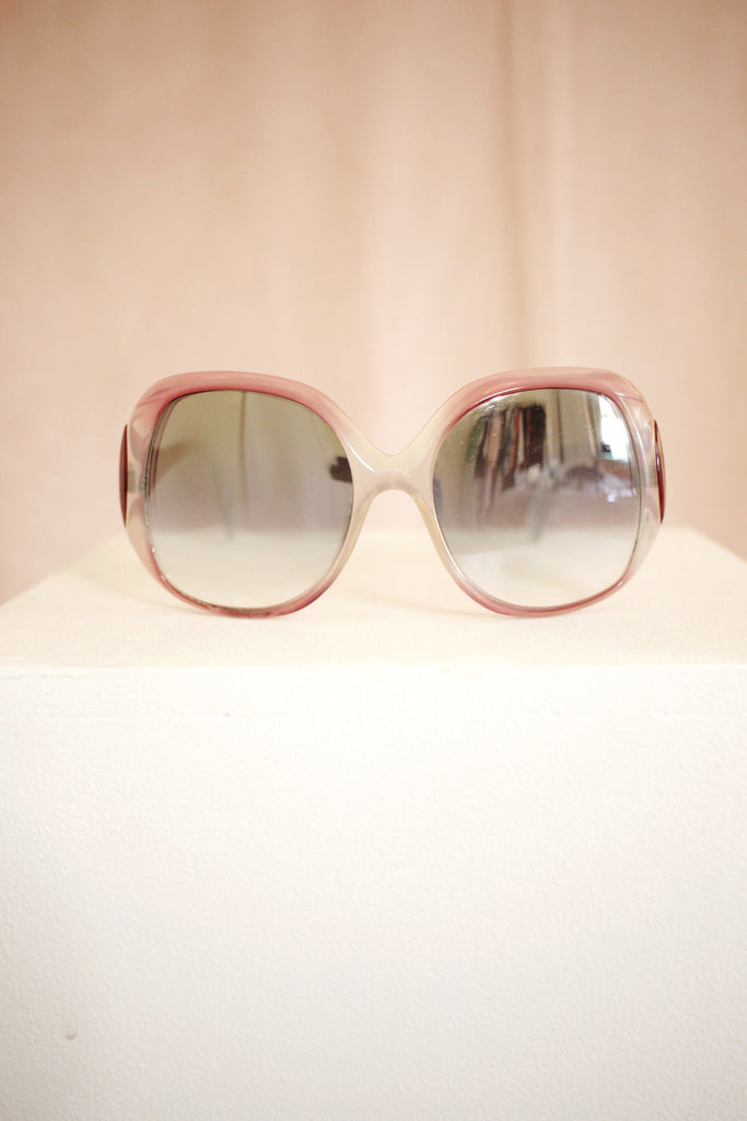 70s Sunglasses- Lilac