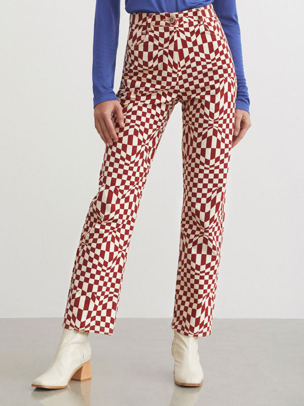 Paloma Wool Realmonte Checkered Pants