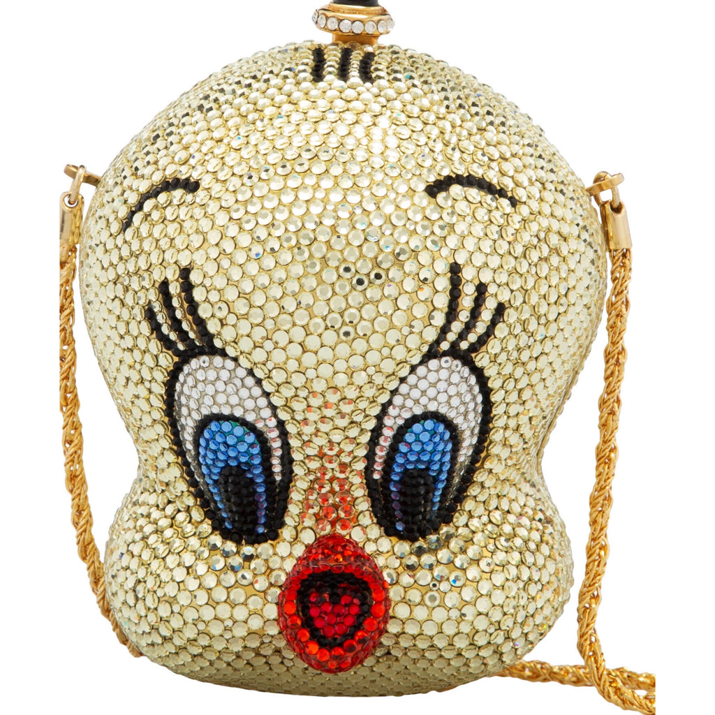 Rare Kathrine Baumann Limited Edition Tweety Bird Swarovski Crystal Purse