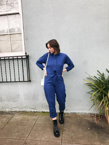 LOUP Gilda Jumpsuit in Royal
