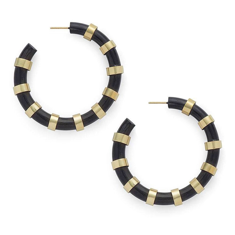 Regalia Hoops