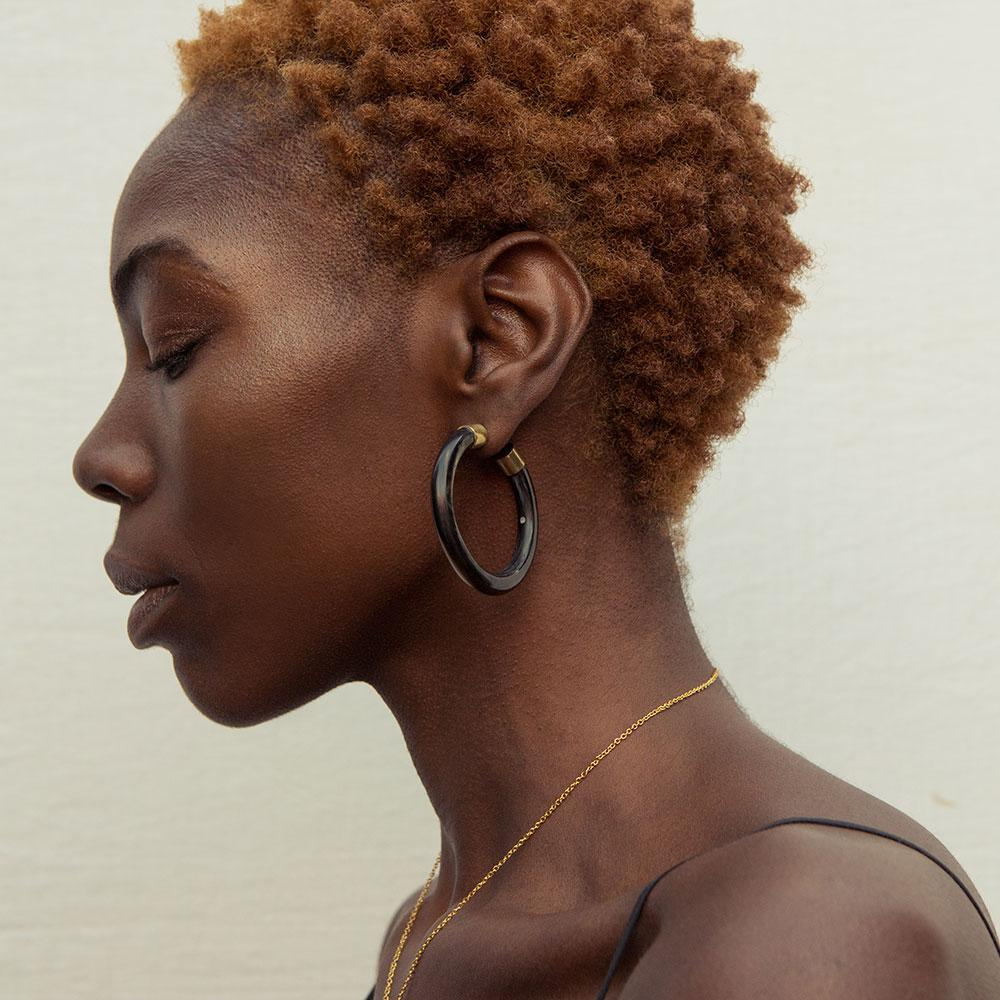 Capped Horn Hoops