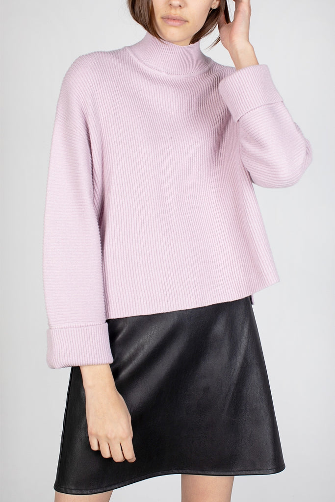 The Lima Sweater - Lilac