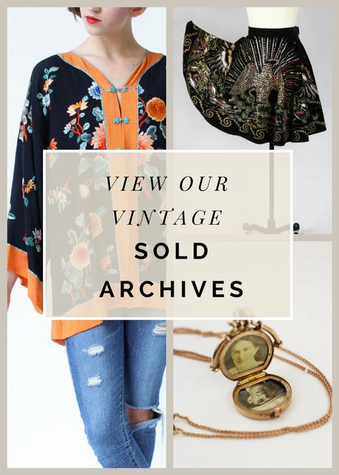 The Vintage Net Sold Archives