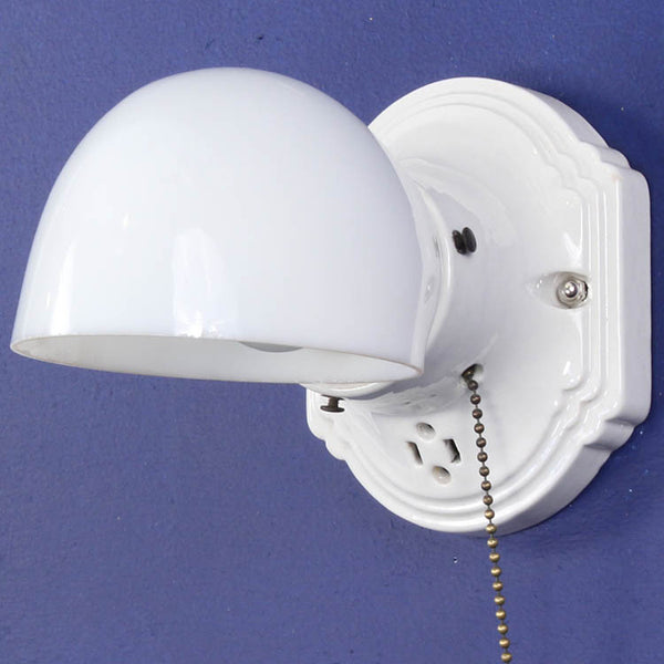 Single Porcelain Wall Light