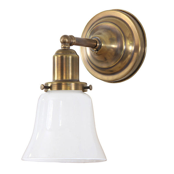 Reproduction - Thin Arm Brass Wall Light
