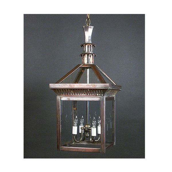 Reproduction - Small Copper Hanging Lantern