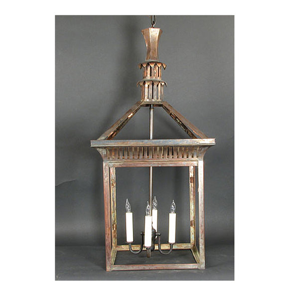 Reproduction - Medium Copper Lantern