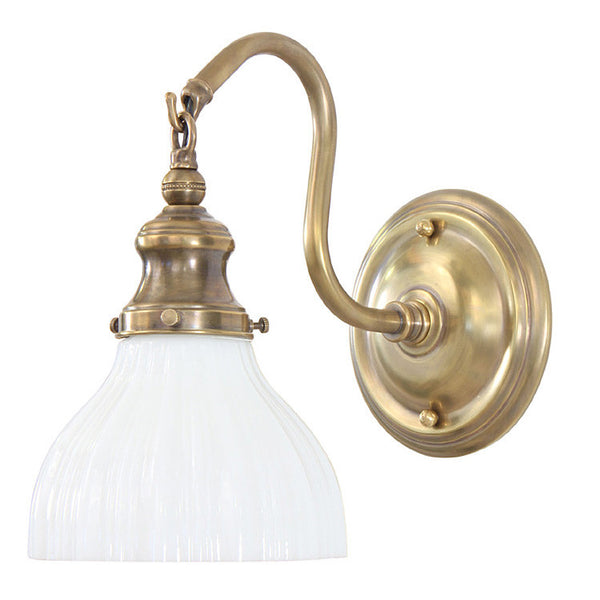 Reproduction - Wall Light with Large Sheffield Shade