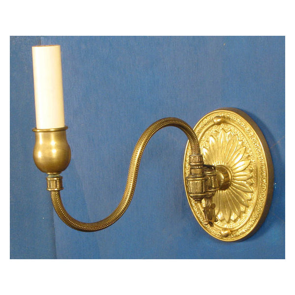 Single Swing Arm Gas Era Wall Light