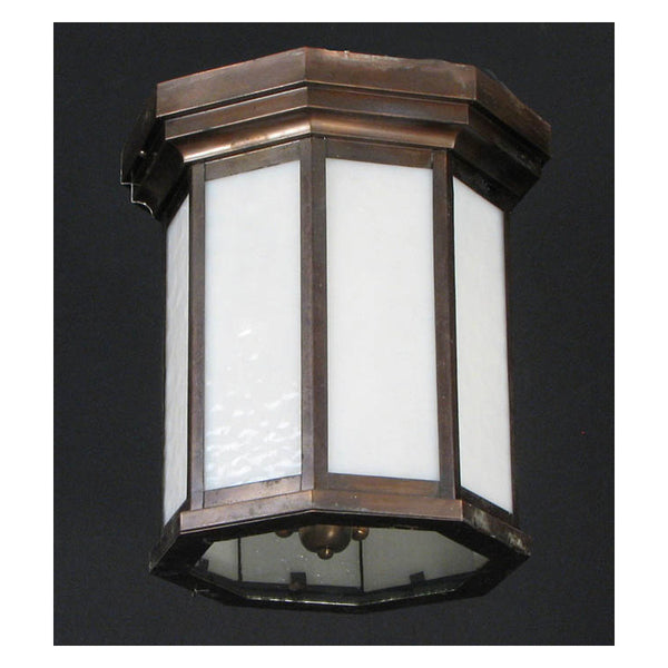 Octagonal Outdoor Flush Mounted Lantern