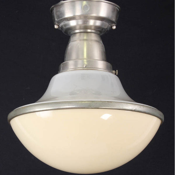 Two Piece Glass Ceiling Light