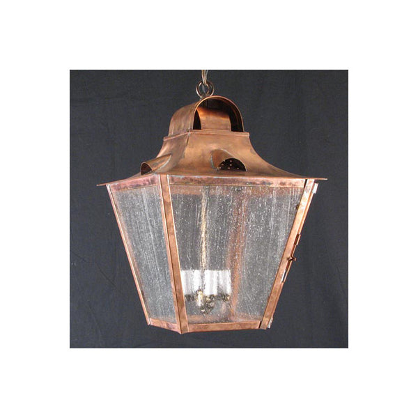 Reproduction - White Hart Copper Hanging Lantern