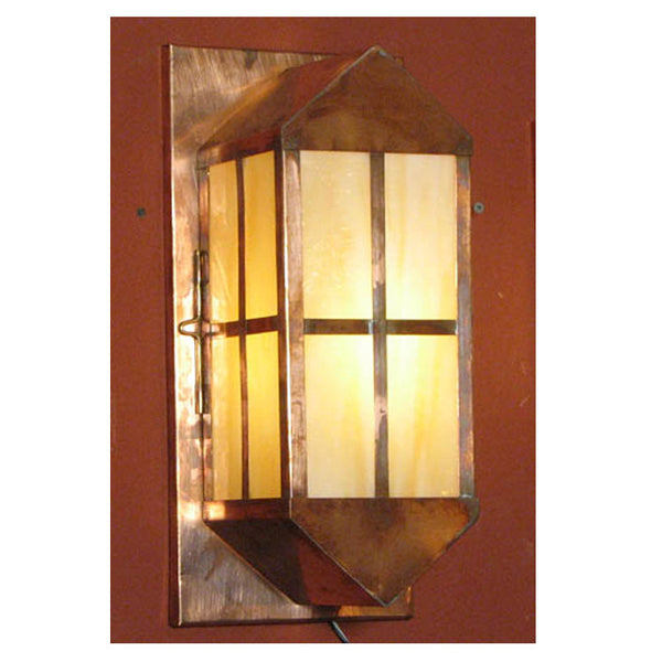 Reproduction - Arts & Crafts Copper Wall Light - Small
