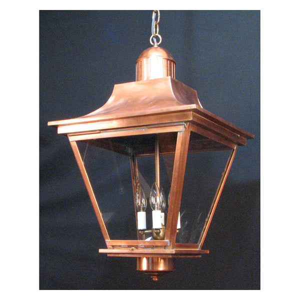 Reproduction - Large Alford Copper Hanging Lantern