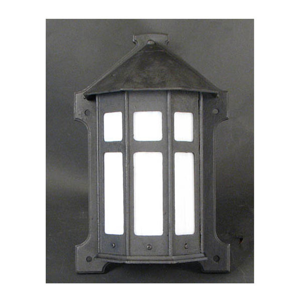Cast Iron Arts & Crafts Wall Lantern