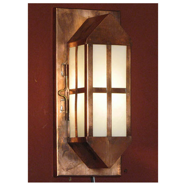 Reproduction - Arts & Crafts Copper Wall Light - Medium