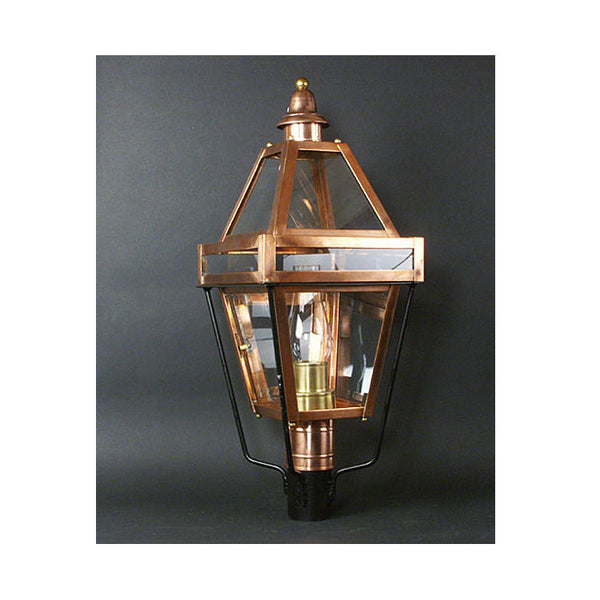 Reproduction - Copper Post Lantern