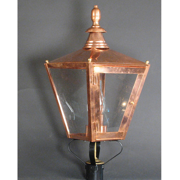 Reproduction - Copper Post Light
