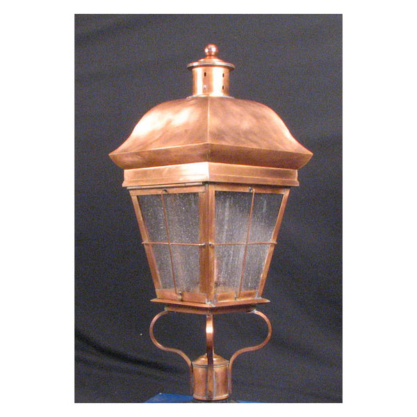Reproduction - Dover Copper Post Lantern