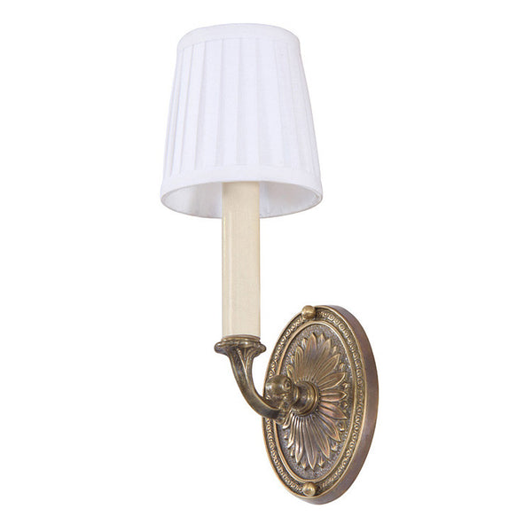 Reproduction - Single Arm Cast Brass Wall Light