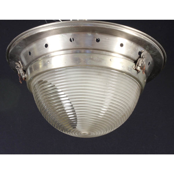 Large Industrial Flush Mount Ceiling Light