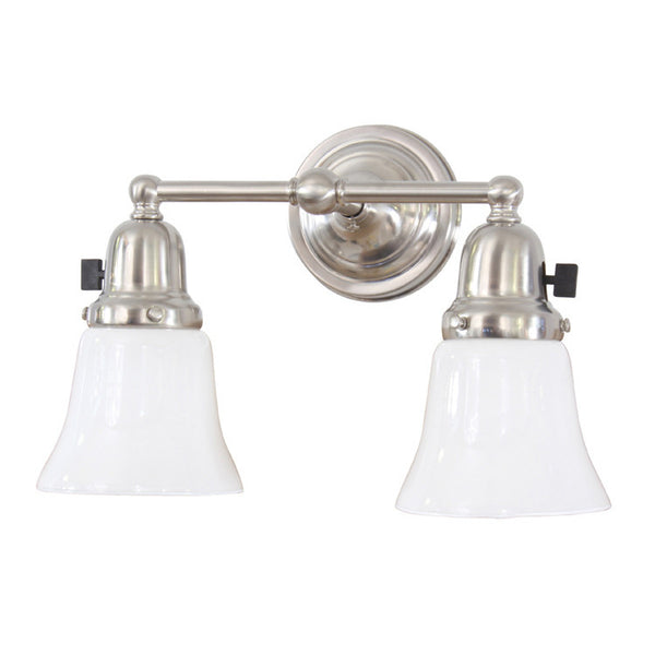 Reproduction - Thin Two Arm Wall Light