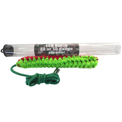Shotgun Bore Cleaner - 12 /16,20,28 gauge - Compact in size with tremendous cleaning power backed by our LIfetime Warranty - Gun Mouse Bore Cleaner