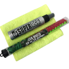Shotgun Bore Cleaning Kit -Plastic, Fouling and Debris do not stand a chance with this combo - Gun Mouse Bore Cleaner