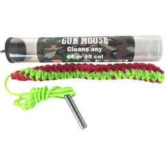 Firearm Bore Cleaner - .44/.45 Caliber - Compact, Very Effective Cleaning with a Lifetime Warranty - Gun Mouse Bore Cleaner